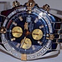 Breitling Chronomat Evolution 18K Gold Automatic Diamonds