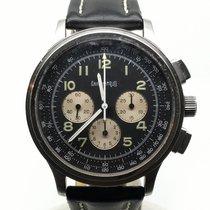 Eberhard & Co. AVIOGRAF CHRONO 40MM BLACK DIAL