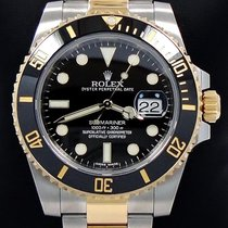 Rolex Two Tone Submariner 116613ln 18k Yellow Gold & Ss...
