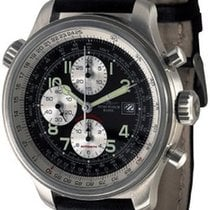 Zeno-Watch Basel OS Slide Rules Chronograph Date