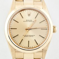 Rolex Oyster Perpetual 14208 Gelbgold 34mm