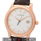 Jaeger-LeCoultre Master Control Date 18k Rose Gold 40mm Silver...