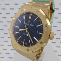 Audemars Piguet Royal Oak  Navy Blue Dial - 15400OR.OO.1220OR.03