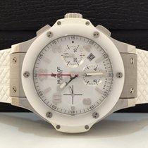 Hublot Big Bang St Moritz Edition White Ceramic 44mm Automatico