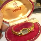 Tudor Ladies  17J Gold Plated Bracelet Watch in  Clamshell...