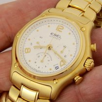Ebel 1911 Chronograph 18 Carati Yellow Gold