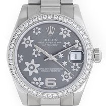 Rolex Lady 31 President Midsize Men's/Ladies Platinum...