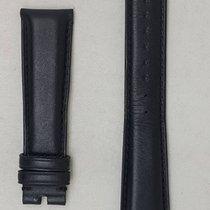 Bulgari leather strap black  used  20 / 16