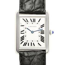 Cartier Tank Stainless Steel White Quartz W5200003