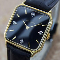 Wittnauer Swiss Made Mens Manual Dress Watch With Genuine...