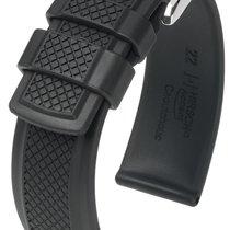 Hirsch Uhrenarmband Accent L schwarz 40478850-2-20 20mm