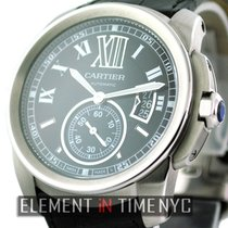 Cartier Calibre Collection Stainless Steel Black Dial 42mm...