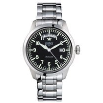 Davosa Simplex Day-Date Automatic Stahl Armband Stahl 44mm