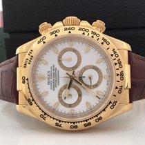 Rolex Daytona Ouro Amarelo White Dial