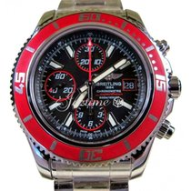Breitling Superocean Chronograph II A13341X9/BA81 Red Abyss...