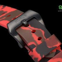 Panerai Horus Red Camouflage Rubber Straps With Pvd Buckle,...