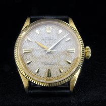 Rolex 6285 Oyster Perpetual 18 kt. semi Bubble Back