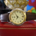 Gucci 8000m Gold Plated Roman Numeral Round Dress Watch