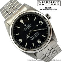 Rolex Explorer 5504 Tiffany dial very rare 1963