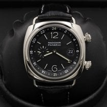 Panerai - Pam 185 - Radiomir - White Gold - GMT - LIMITED...