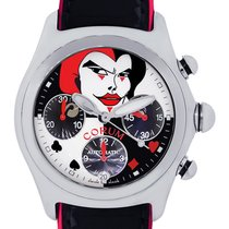 Corum Bubble Limited Edition Joker Stainless Steel Chronograph...