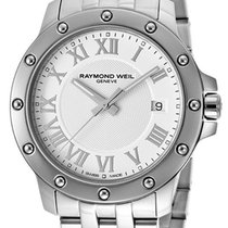 Raymond Weil Tango Stainless Steel Mens Watch White Dial...
