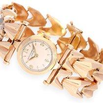 Patek Philippe Wristwatch: extravagant 18K pink gold cocktail...