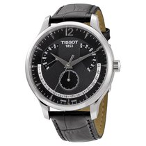 Tissot Tradition Black Dial Stainless Steel Mens Watch...