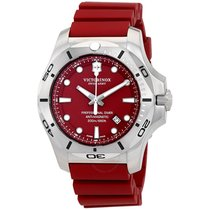 Victorinox Swiss Army I.N.O.X. Professional Diver Red Dial...