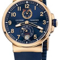 Ulysse Nardin Marine Chronometer Manufacture Blue Dial Blue...