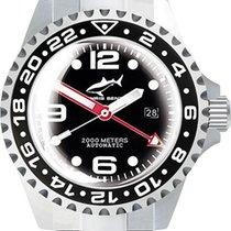 Chris Benz Deep 2000m Automatic GMT Super Bubble CB-2000A-D3-M...