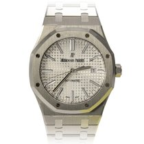 Audemars Piguet ROYAL OAK JUMBO ACCIAIO WHITEDIAL