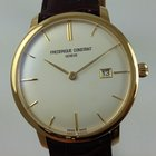 Frederique Constant SlimLine plated yellow gold