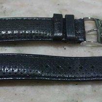 Van Der Bauwede leather strap blu avio mm20 with steel buckle...