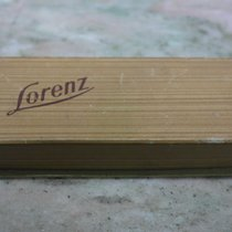 "Lorenz vintage watch box  ""precision watch"" very nice"