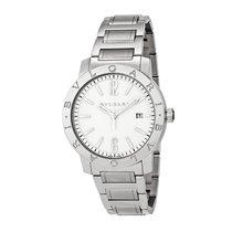 Bulgari Mens Automatic Stainless Steel Watch Ref. BB41WSSD