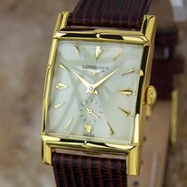 Longines Swiss Made 1940s Mens Gold Plated Manual Luxury Dress...