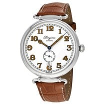 Longines Heritage 1918 White Dial Automatic Mens Watch L28094232
