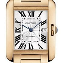 Cartier W5310002 Tank Anglaise Large Model in Rose Gold - on...