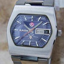 Rado Silver Sabre Swiss Made Vintage Automatic Mens 34mm 1960s...
