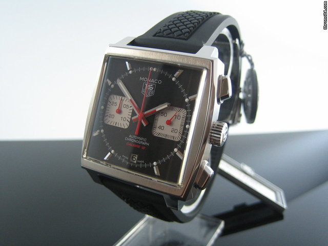 TAG Heuer Monaco Automatik Chronograph CAW2114.FT6021