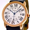 Cartier , Ronde Solo XL, 18k Rose Gold/Stainless Steel, Bj. 2013