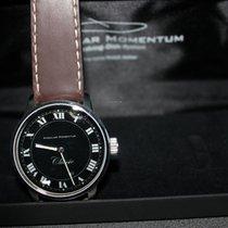 Angular Momentum Axis XX Classic Art Deco braunes Lederband