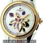 Perrelet Diamond Flower Stainless Steel/ 18k Yellow Gold Ref....