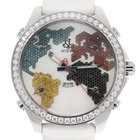Jacob & Co. . Five Time Zone No. S4181 Diamond Bezel Watch