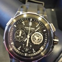Concord C2 Chronograph Asphalt Black