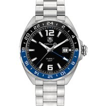 TAG Heuer FORMULA 1 CALIBRE 7 GMT AUTOMATIC 41MM -  BLACK...