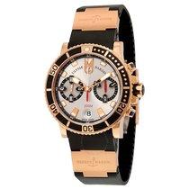 Ulysse Nardin Maxi Marine Diver Chronograph Automatic Silver...