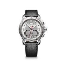 Victorinox Swiss Army Chrono Classic 1/100 chronograph, silver...