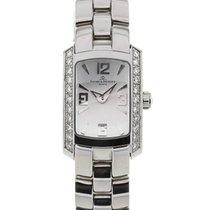 Baume & Mercier Hampton Milleis Mini Lady Quartz Silver...
